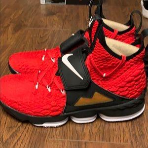 "Nike LeBron 15 ""Primetime"" edition."